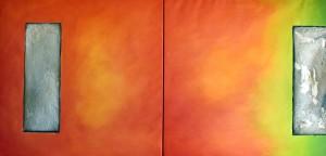 orangegrünstruktur